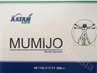 120 tablets Altai High Quality Pure Supplement mumio mumiyo mumijo resin tablet