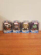 Marvel Mighty Muggs lot of 4  Star Lord/Gamora/Drax and Rocket Racoon - NIP