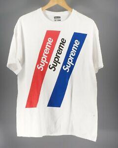 Supreme White T-shirt Size L