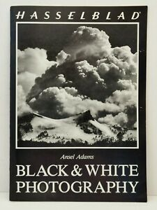 RARE 1980 Hasselblad Ansel Adams B&W Black and White Photography Book/Catalogue