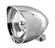 "ACCESSORIESHD - Chrome King Cobra 7"" Billet Headlight Harley FATBOY, HARLEYS ECT"