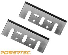 Powertec 128351 3-1/4-Inch Carbide Planer Blades for DeWalt Dw6655, set of 2