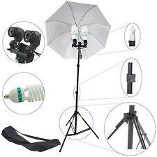 Kit Éclairage DynaSun MM2-800 Douille Double Parapluie Trépied Sac +2x Ampoule