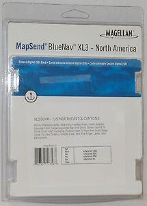 NEW Magellan MapSend BlueNav North America Maps XL3 US CANYONS SD cd eXplorist