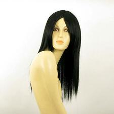Perruque femme mi longue noir VICTOIRE 1B