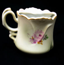 REPRODUCTION  nippon  japan mustache cup / mug fancy handle in perfect condition