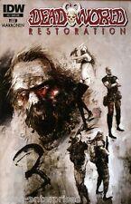 Deadworld: Restoration #3 (of 4) Subscription Variant Comic Book 2014 - IDW