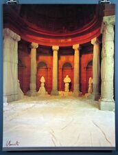 """""""The Wrapped Vestibule"""" Rare Hand-Signed Javacheff Christo Poster, Wolfgang Volz"""