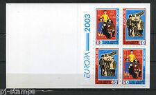 Europa CEPT 2003 Georgië boekje 420d-421d cat waarde € 11