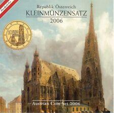 Oostenrijk euro set 2006, in mapje