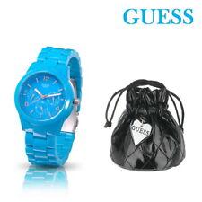 GUESS Damenuhr Armbanduhr Damen Kunststoff Blau Uhr W11603L5  UVP 159€€€ TOP