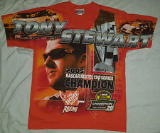 Tony Stewart 2005 Medium T Shirt Champion NASCAR Nextel Home Depot Racing