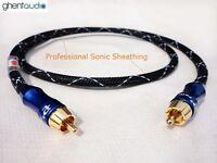 E03(1m 3ft)---Digital Coax 75Ω RCA/Phono(male to male) 4N-OFC HIFI Audio Cable