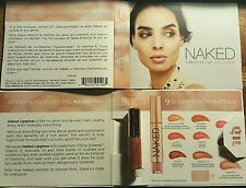 3 X Urban Decay Naked Lipgloss Deluxe Size Carded 1.35mL (3 pieces)