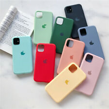 For iPhone11 Pro Max XS XR 8 6S Plus Liquid Silicone Protective Phone Case Cover