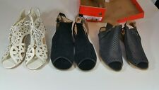 Womens Shoes New (3) Pairs Marked 42-43 Actually About USA 10