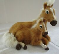 Realistic Horse FOAL Figure Model Feels Like Real Hair FUR, EXCELLENT 10 X 6 X6