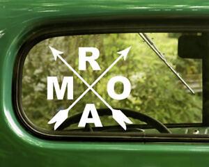2 ROAM HIKING DECALs Nature Sticker For Car Window Bumper Laptop RV