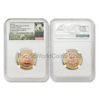 China 2016 Martin Weiss Panda Coin Ambassador 33 mm Tri-metal NGC PF69 UC w/ COA