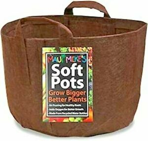 Wholesale lot of Soft Pots 10-pack of 5 gallon New by Maui Mike
