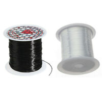 2 Rolls 10M Strong Stretchy Beading Thread String Cord Jewelry Making Elastic