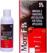 Morr-F 5% Minoxidil Hair Regrowth FDA Approved DHT Blocker HERBAL 60 ml Natural