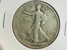 "~1944-S~ WALKING LIBERTY Half Dollar   ""FINE CIRCULATED SILVER COIN"""