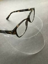 *Usa* Clear Mini Face Shield Rigid Plastic Breathable Face Cover for Glasses