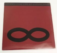 "SWANS the great annihilator Lp 12""x2 RECORD SET YOUNG GOD YGLP9 UK 5018615500919"