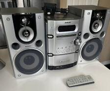 Sony CMT-HPX9 Mini Hi-Fi Component System, AM/FM, 5 disc CD, Tape Remote Antenna