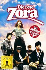 DIE ROTE ZORA - DIE KOMPLETTE SERIE   3 DVD NEU