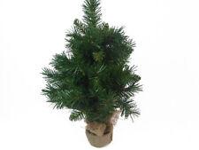 Albero Pino New Cedar Cm 60 Con Base Rivestita Juta Arredo Addobbi Natale