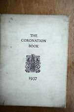 British - 1937  The Coronation book by William Le Hardy