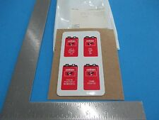 Eveready Get A Charge Out Of Life Refrigerator Magnets Set of 4 Unused S2403