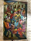 """""""Good Times"""" Haitian Art. In Great Condition."""