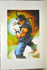 Street Fighter - RYU LIMITED EDITION PRINT Capcom Arnold Tsang art