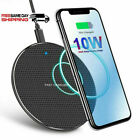 10W Qi Wireless Charger Phone Fast Charging Pad Dock For iPhone Samsung Android