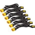 APC by Schneider Electric Power Cord Kit (6 ea), Locking, C13 to C14, 1.2m, Nort