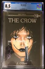 The Crow 1 CGC 8.5. White Pages! 1989. James O'Barr. 1st print