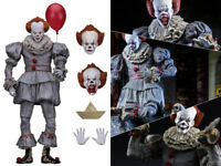 NECA IT 2017 Pennywise The Clown Ultimate Movie Doll Action PVC Figurine Statue