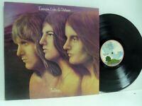 EMERSON LAKE AND PALMER trilogy (pink rim labels) LP EX+/VG+, ILPS 9186, vinyl,