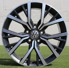 Cerchio Originale VolksWagen 17 Polo Nero Felgen Wheel