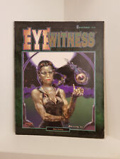Shadowrun: Eyewitness, RPG, Fasa, Softcover