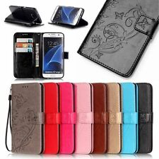 Phone Flip PU Leather Case Cover For Samsung Galaxy J1 J2 J3 J5 J7 S7 S6 A3 A5