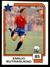 Panini Soccer Cards 1988 - Emilio Butragueno # 85