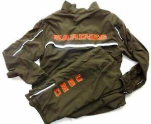 New Balance USMC Marine Corps running suit jacket & pants Medium Regular NEW