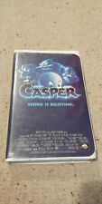 Casper (VHS, 1997, Clamshell) Seeing Is Believing Christini Ricci Family Spooky