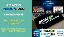 6 Months Amazon Prime Video + Prime Music
