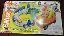 Nickelodeon Spongebob Squarepants Slot Car Game Race For The Crown HARD TO FIND
