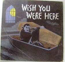 WISH YOU WERE HERE UNIVERSAL MONSTERS DRACULA MEL BLANC CARD LP RECORD UNPUNCHED
